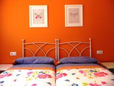 Habitación doble con 2 camas de 90.