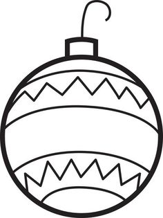 christmas coloring pages printable for applique christmas ornament