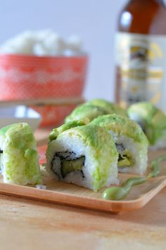 Spicy Vegan Dragon Roll, the bold flavors of modern Asian food and other flavor-forward dishes. One of Japan's oldest breweries, with a history dating back