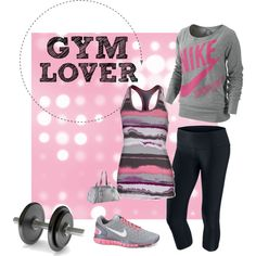 .....not a gym lover, too many meat heats, but cute outfit!