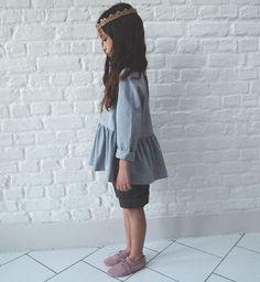 patroon Mini Marthe van republique du chiffon - blousje of jurk - 2-12jaar