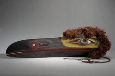 Unknown Kwakwaka'wakw artist, Gwaxewe mask, late 19th century, 38 x 35 x 116 cm; American Museum of Natural History