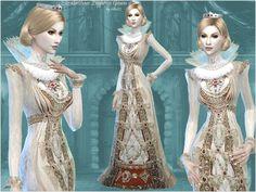 long dress sims 4 zerbu