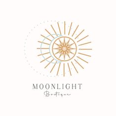 Business Slogans, Business Logo, Boutique Logo, Boho Boutique, Sun Logo, Plant Logos, Jewelry Logo, Photography Logos, Moon Photography