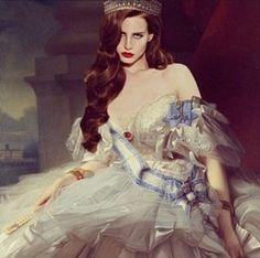 All hail the queen!! Lana Del Rey #LDR #art ♡♡