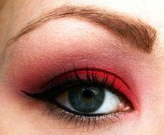 The best red eyeshadow looks | AmazingMakeups.com