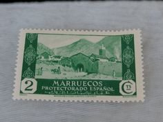 Spanish Morocco Stamp Vintage Marruecos
