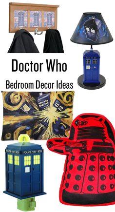 Doctor Who Bedroom Decor Ideas