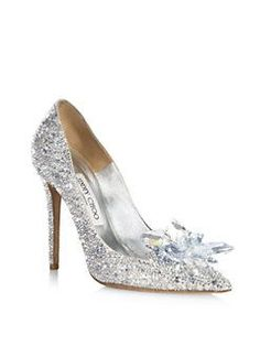 651a2a019edbf Best-Selling Shoes - Jimmy Choo - Crystal Suede Point Toe Pumps Grey  Women s Shoes - US Online - Shimmering suede pumps featuring a crystal  cluster ...