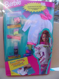 Vintage Mattel Barbie Paint 'N Dazzle Fashions , 1993 Barbie Clothing , Doll Clothes , Mattel # 3482 Barbie Outfit , New Barbie Fashions by ShersBears on Etsy