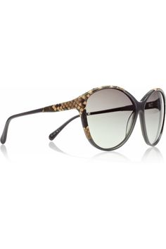 c975a75ce4 alexander mcqueen scalloped modified cateye sunglasses blackburgundy ...