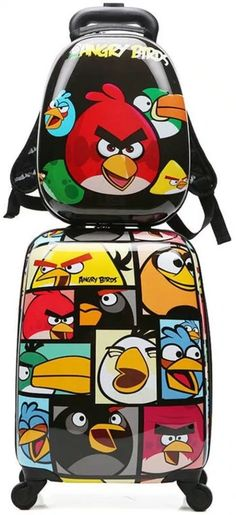 Angry Birds wallet Red Children Boys Girls Wallet Kids Cartoon Coin Purse