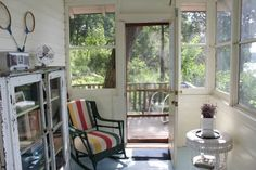 vintage kitschy cottage pinterest   Don't you just love those vintage rackets and that pretty painted ...