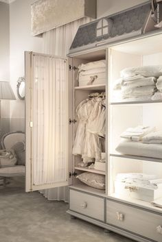 And for young #princesses… discover the real #Dolls' House #Wardrobe with a special three-dimensional façade #children #furniture #iSaloniWorldWideMoscow 2016