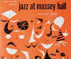 "Recorded on May 15, 1953, ""Jazz at Massey Hall"" is a live album by Dizzy Gillespie, Charlie Parker, Bud Powell, Charles Mingus and Max Roach a.k.a. ""The Quintet.""  TODAY in LA COLLECTION on RVJ >> http://go.rvj.pm/asr"