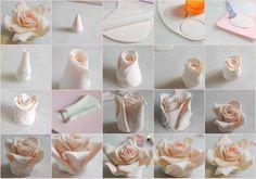 Sugar flower RoseTUTORIAL