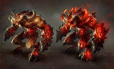 Inferno-Juggernaut by *michalivan on deviantART