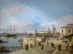 Canaletto – National Gallery of Art 1945.15.4. Entrance to the Grand Canal from the Molo, Venice (1742/1744)