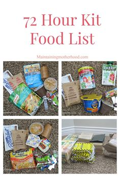 Straightforward Prepper's Pantry Food Guide For Outliving When SHTF; Essential Aspects In Arranging A Pantry In The Usa - Jack Survival 72 Hour Emergency Kit, 72 Hour Kits, Emergency Preparation, Emergency Food Storage, Emergency Food Supply, Emergency Preparedness Kit, Prepper Food, Survival Food, Survival Prepping
