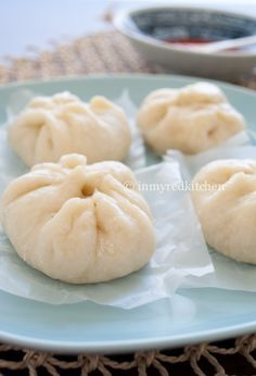 Baozi – Chinese steamed buns | in my Red Kitchen