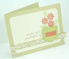 Card by Nichole Heady for Papertrey Ink (March 2012)