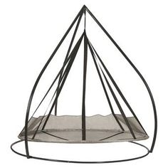 Flying Saucer Hanging Patio Hammock With Stand - Silver - FlowerHouse : Target Egg Swing Chair, Hanging Swing Chair, Hammock Swing Chair, Hammock Stand, Swinging Chair, Swing Chairs, High Chairs, Hanging Chairs, Lounge Chairs