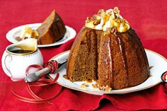 Buttery and moist, this gingerbread pud will be a Christmas favourite for years to come.