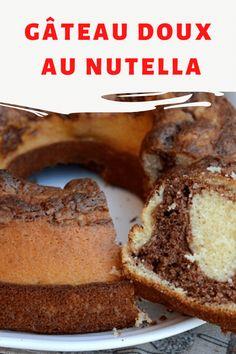 Gâteau doux au Nutella prêt en 2 minutes, il vous suffit de remuer rapidement la pâte pour obtenir un doux et gourmand cake. Un gâteau à préparer à la dernière minute, si vous vous rendez compte que vous n'avez rien pour le petit déjeuner ou le goûter, préparez-le! Prêt en 30 minutes! Strudel, Conte, Nutella, Entrees, Banana Bread, Biscuits, Food, Chocolate Fondue, Pastry Recipe