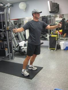 Alternating Chest Fly pos. 2 by Your Personal Best Training Studio, via Flickr