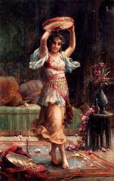 LOVE. Maher Art Gallery: Orientalizm / Belly Dance