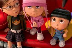 despicable me girls - - Yahoo Image Search Results Agnes Despicable Me, Despicable Me 2 Minions, Minion Pumpkin, Minion Banana, Cartoon Movies, Girl Cartoon, Fiona Shrek, Homemade Minion Costumes, Happy Birthday Minions