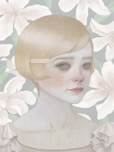 #digital #illustrations by Hsiao-Ron Cheng