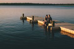 engagement session at the Manasquan Reservoir