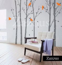 Urban Forest, tree Wall Sticker