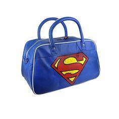 Shop Official Superman Merchandise - Buy T-Shirts, Clothing & Gifts Superman T Shirt, Batman Vs Superman, Superman Stuff, Supergirl, Superman Merchandise, Presents For Men, Blue Handbags, Blue Purse, Tote Backpack