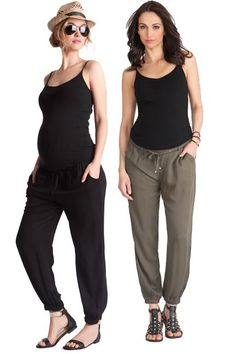Seraphine Harmony Maternity Harem Pants | Maternity Clothes   www.duematernity.com