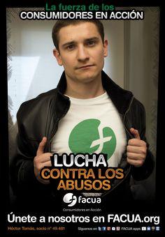 Héctor Tomás, socio de FACUA nº 49.481, llama a los consumidores a la lucha contra los abusos