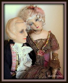 French Valentino and Rosalinde boudoir dolls | Flickr - Photo Sharing!