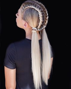 47 Trendy Hairstyles with Braids that you will Love .- 47 Peinados con Trenzas de Moda que te Las tendencias en …, 47 Fashionable Hairstyles with Braids that you will Love Trends in …, # - Box Braids Hairstyles, Trendy Hairstyles, Girl Hairstyles, Hairstyles 2018, Short Haircuts, Fashion Hairstyles, Hairstyles Pictures, Hairstyles Videos, Long Hairstyles