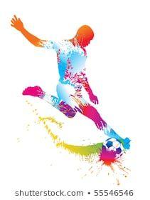 vic dd's Portfolio - Illustrator / Vector Artist | Shutterstock Soccer Art, Soccer Games, Football Wall, Football Bedroom, Sports Art, Soccer Players, Cool Wallpaper, Watercolor Print, Illustration