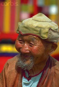 Buddhist Monk in Mongolia