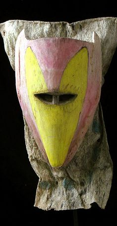 Brazilian Masks - Amazon Ticuna Indian monkey mask