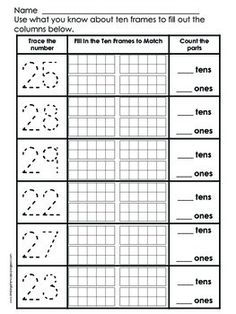 math worksheet : numbers 1 20 fall  math centers count and worksheets : Math Number Sense Worksheets