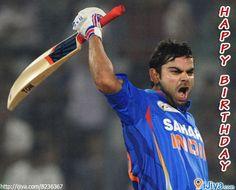 Happy B'Day 2 The rising star of Indian Cricket : VIRAT KOHLI @ http://ijiya.com/8236367