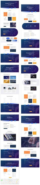 ET IT Services layout pack