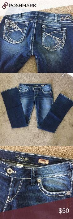 """💙👖Silver Jeans 30x35 Bootcut Tuesday 💙👖Silver Jeans Bootcut """"Tuesday"""" W30/L35. EUC. Silver Jeans Jeans Boot Cut"""