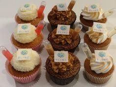 Cupcakes met een twist mét bedrijfslogo