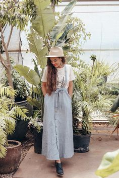 Overall dress//scout & cloth
