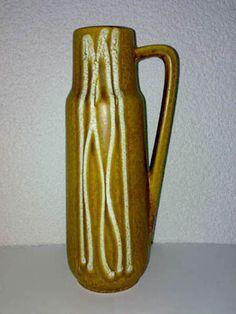 Vase Scheurich WGP Mid Century 60s 70s Keramik 275-28 *
