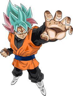 Super Saiyan Rose Goku Black by on DeviantArt Anime, How to Draw, Anime Poses Black Goku, Bd Comics, Anime Comics, Figurine Dragon, Anime Poses, Super Saiyan, Manga Anime, Illustration, Superman